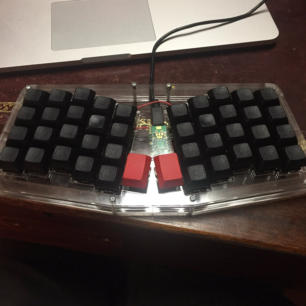 finished with keycaps